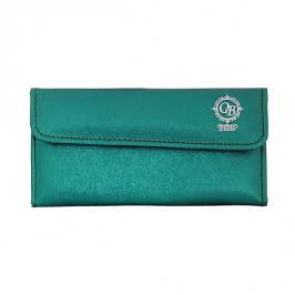 Wallet (emerald) for 6 tweezers