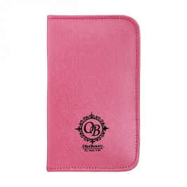 Zip-case (pink) for 6 tweezers