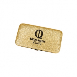 Magnetic case (glitter gold)
