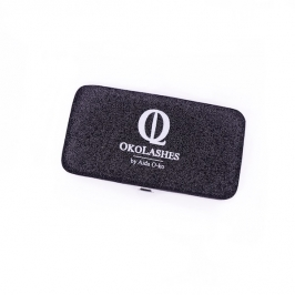 Magnetic case (glitter black)